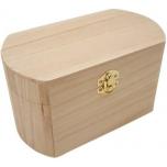 Puidust ovaalne karp