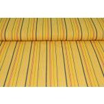 Puuvillane triibukangas, Muhu kollane. 1.5m