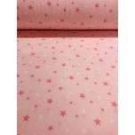 Flanell 2,4m roosal tähed.