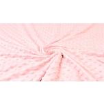 Minky fliis roosa