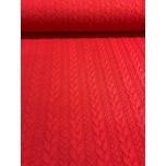 Paksem trikotaaž,kudum särav punane