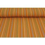 Puuvillane triibukangas, Muhu oranž. 1.5m