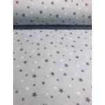 Flanell 2,4m hallil tähed.