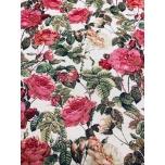 Mööblikangas, Gobelään heledal roosid.